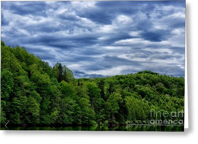 Stonewall Jackson Lake Wildlife Management Area Greeting Card by Thomas R Fletcher