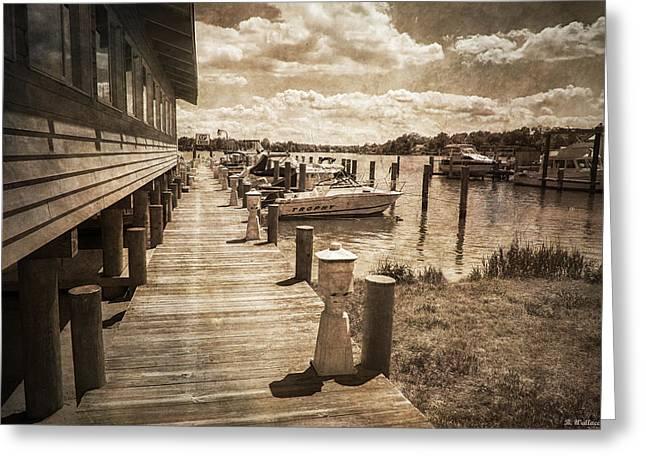 Stoney Creek Marina Greeting Card by Brian Wallace