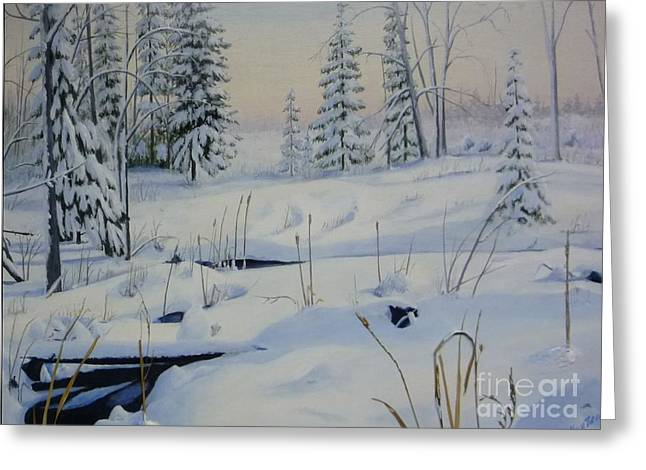 Stoney Swamp Greeting Card