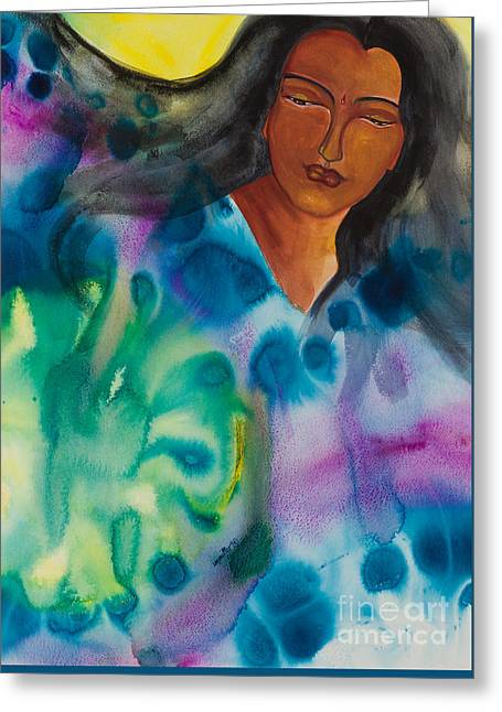 Strong Women Of The World   Inventive Greeting Card by Ilisa Millermoon