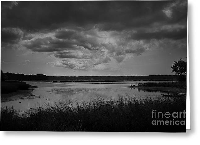 Greeting Card featuring the photograph Stony Brook Bay by Paul Cammarata