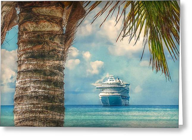 Stopover In Paradise Greeting Card by Hanny Heim