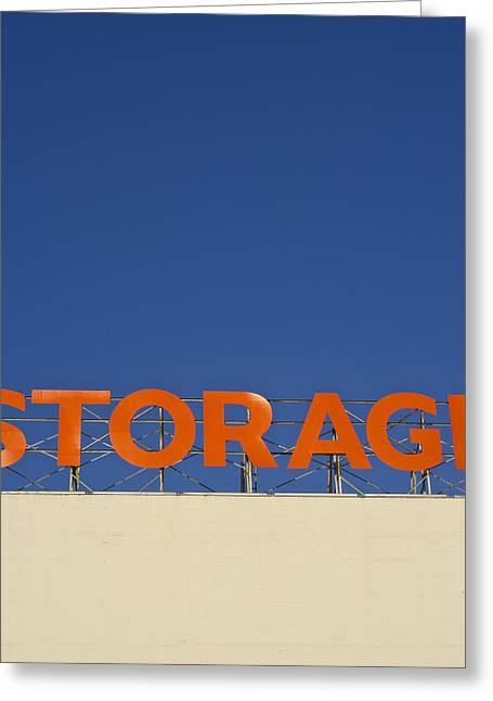 Storage Greeting Card