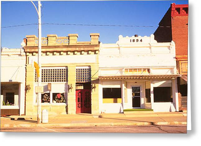 Store Fronts Main Street Small Town Photograph By
