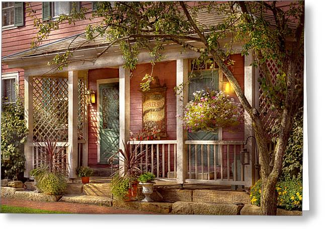 Store - Zoar Oh - The Cobbler Shop Greeting Card