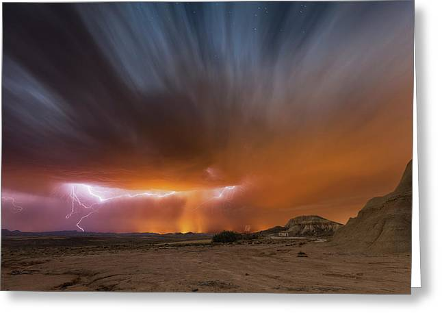 Storm Bardenas II Greeting Card