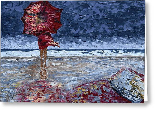 Storm Beauty Greeting Card
