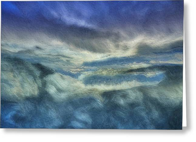 Storm Brewing Greeting Card by Jack Zulli
