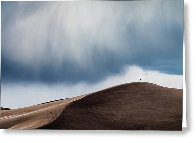 Storm Chaser Greeting Card by John Fan