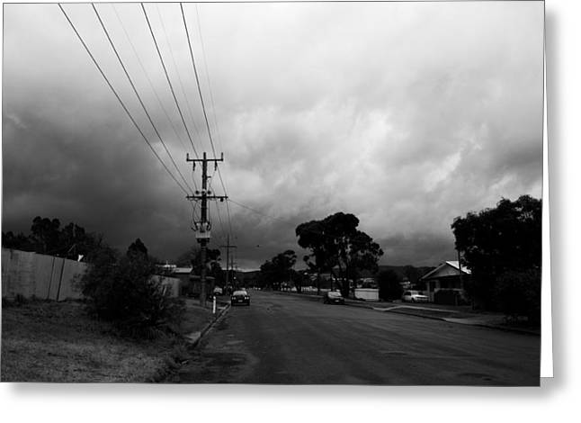 Greeting Card featuring the photograph Storm Closing In  by Naomi Burgess