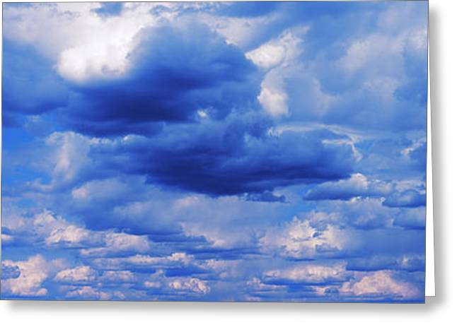 Storm Clouds In The Sky Greeting Card