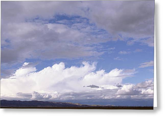 Storm Clouds In The Sky, Phoenix Greeting Card