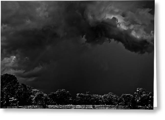 Storm Clouds Greeting Card by Mark Alder