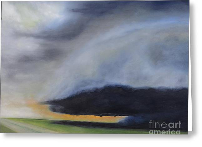 Storm Coming.. Greeting Card