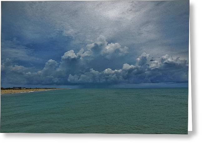 Storm Front North Avon 7/11/2014 Greeting Card