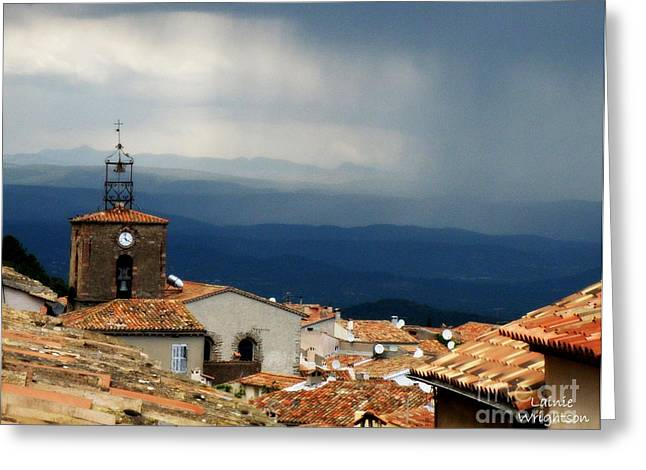 Storm In The Mountains Greeting Card