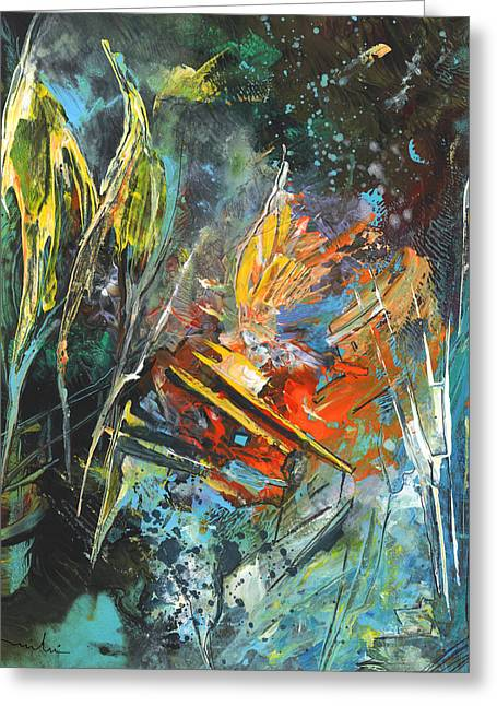Storm In The Night Greeting Card