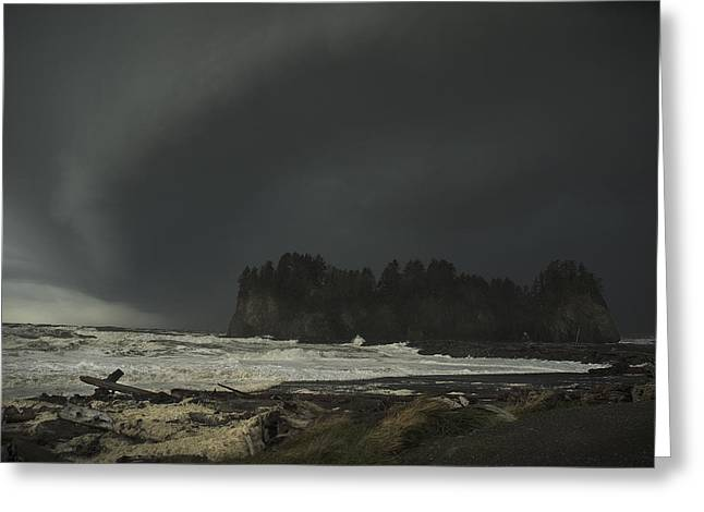 Storm Is Coming North West Wa Greeting Card
