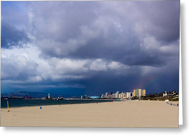 Storm On The Horizon Greeting Card by Heidi Smith