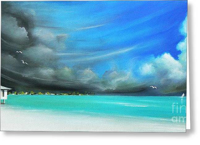 Storm On The Move Greeting Card by S G