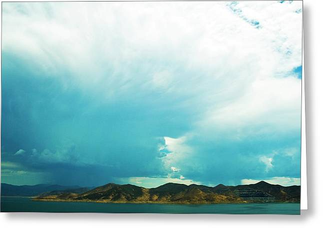 Storm Greeting Card by Terry Thomas