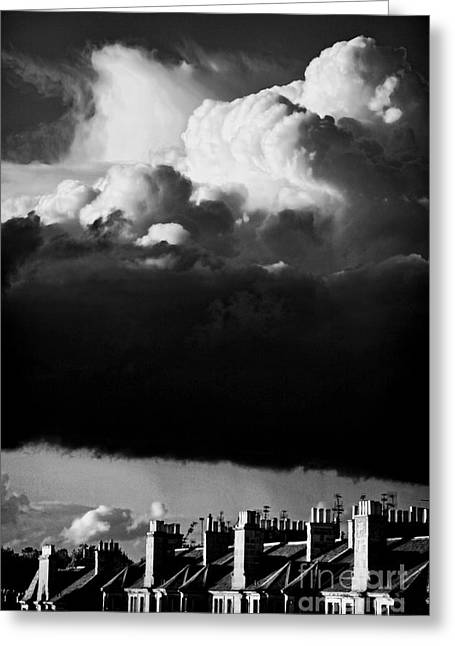 Greeting Card featuring the photograph Stormclouds Approaching by Craig B