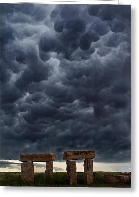 Stormhenge Greeting Card