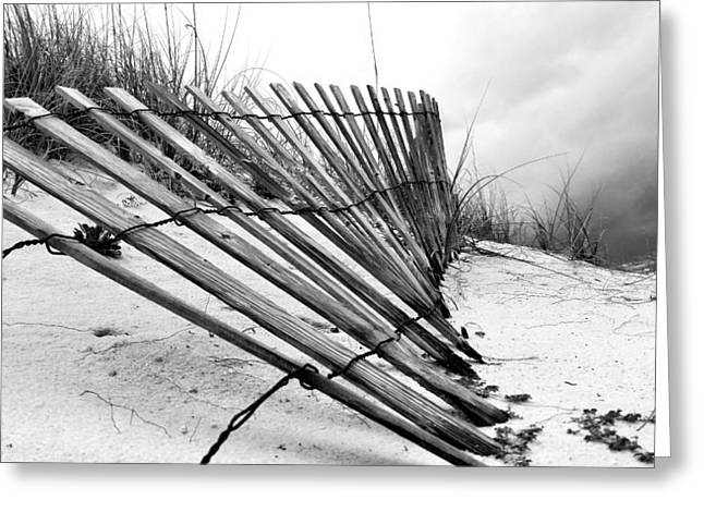 Storms Over Pensacola Beach Greeting Card by JC Findley