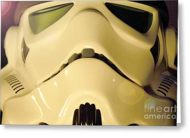 Stormtrooper Helmet 105 Greeting Card