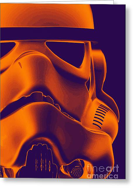 Stormtrooper Helmet 9 Greeting Card