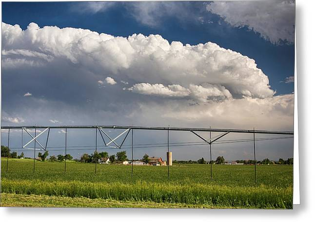 Stormy Country Skies Greeting Card by James BO  Insogna