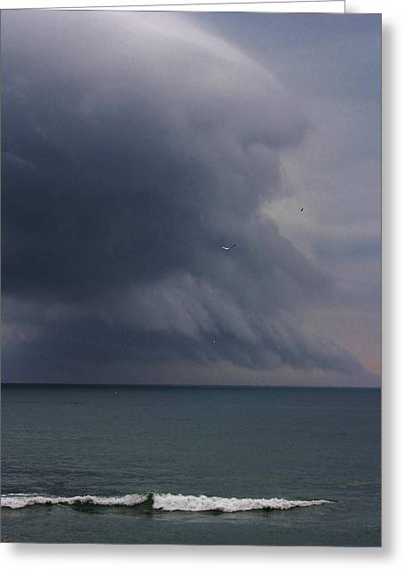 Stormy Days Greeting Card by Bruce Bley