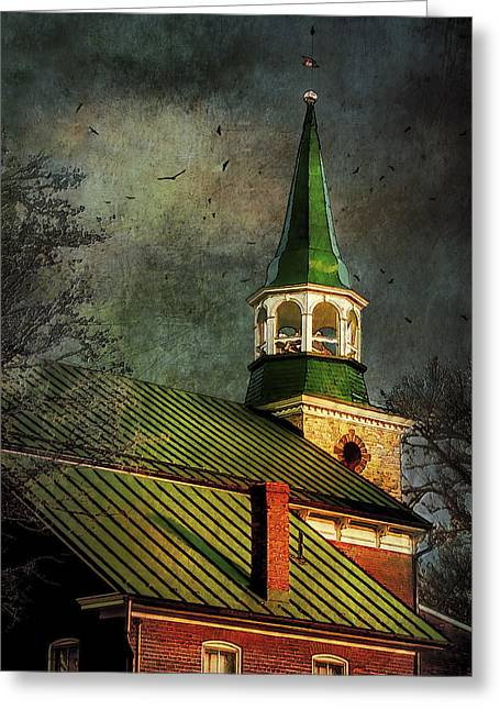 Stormy Evening Greeting Card