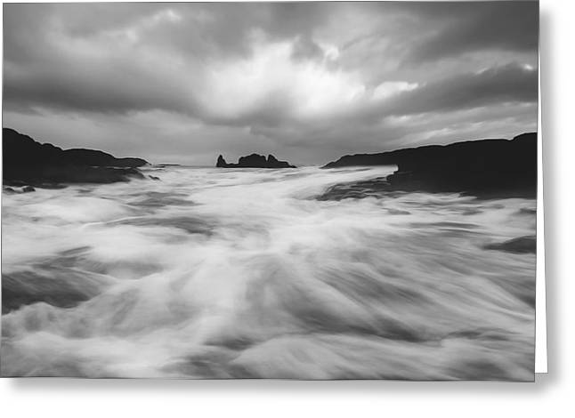 Stormy Morning Greeting Card by Roy  McPeak
