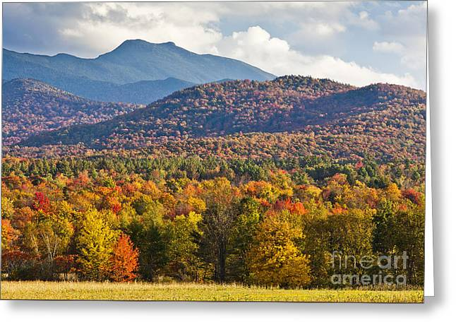 Stormy Mount Mansfield Greeting Card