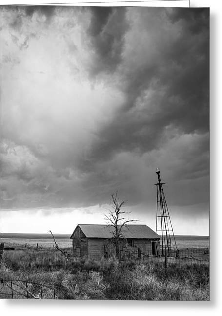 Stormy Past Greeting Card