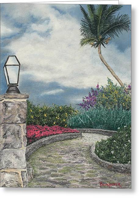 Stormy Path Greeting Card