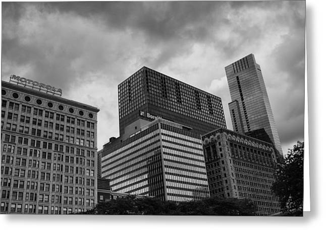 Stormy Skies Greeting Card by Miguel Winterpacht
