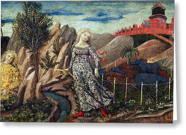 Story Of Oenone And Paris 1460 Greeting Card by Getty Research Institute
