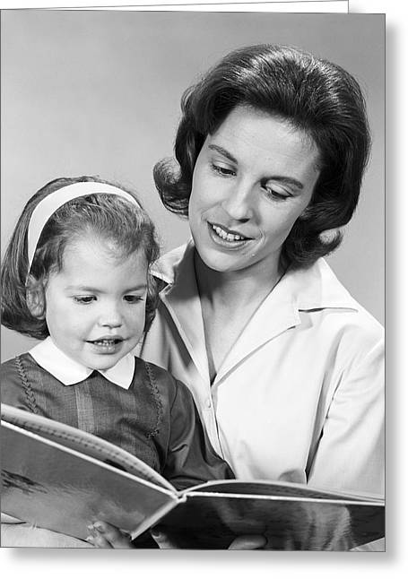 Story Time, C.1960s Greeting Card