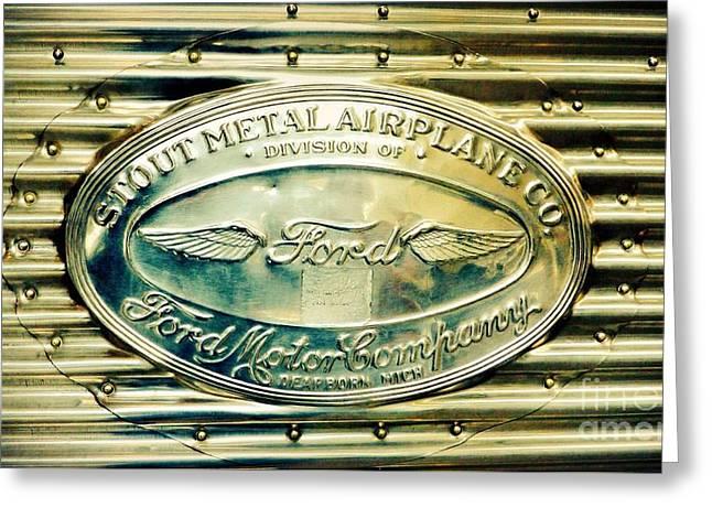 Stout Metal Airplane Co. Emblem Greeting Card