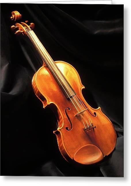 Stradivari Violin Greeting Card