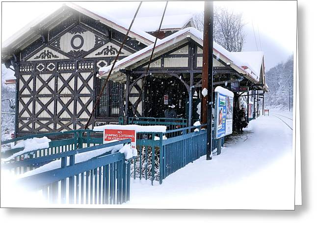 Strafford Station Greeting Card
