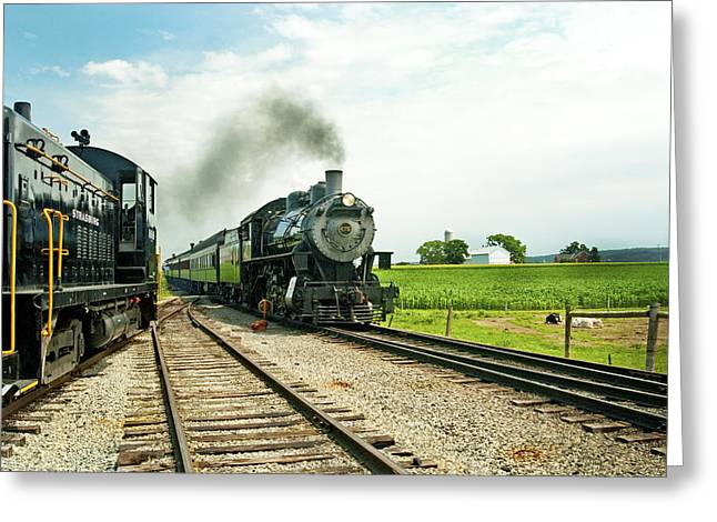 Strasburg Express Greeting Card