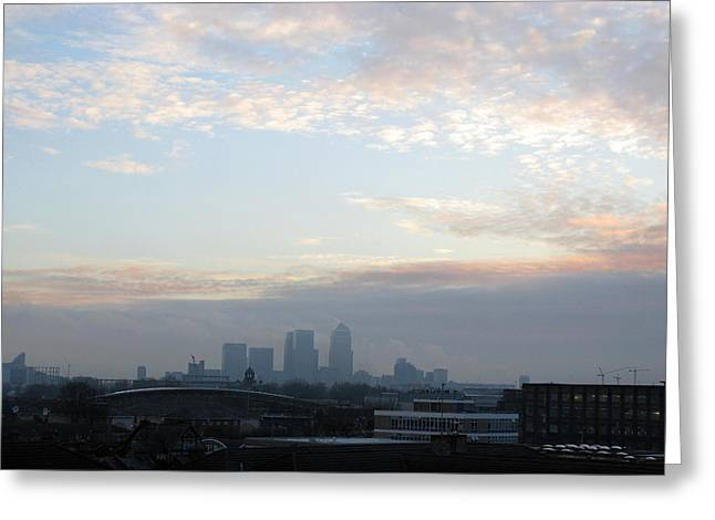 Greeting Card featuring the photograph Stratford 1 by Helene U Taylor