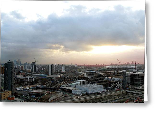 Greeting Card featuring the photograph Stratford 2 by Helene U Taylor