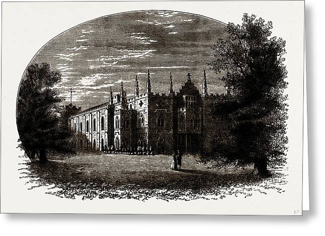 Strawberry Hill In Walpoles Time Greeting Card by Litz Collection