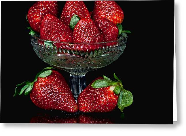 Strawberry Yum Greeting Card