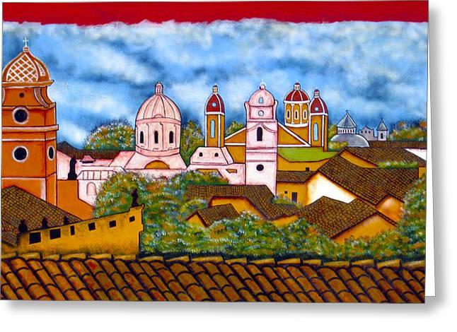 Street Art Granada Nicaragua 3 Greeting Card