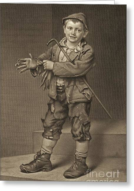Street Dude 1884 Greeting Card by Padre Art